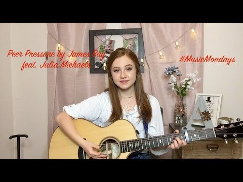 Peer Pressure - James Bay Feat. Julia Michaels (Cover By Amanda Nolan)