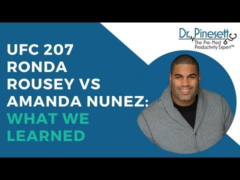 UFC 207 Ronda Rousey Vs Amanda Nunez: What We Learned