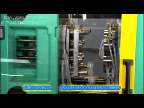 Automatic Horizontal Plastic Injection Moulding Machine
