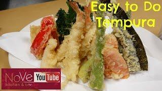 Easy To Do Tempura