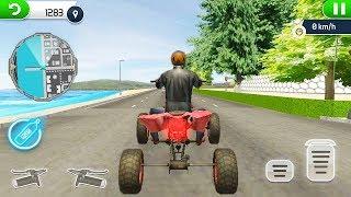 Offroad ATV Bike 4 Wheeler Super Fastest Driving Game || ATV Bike 3D Games - Bike Game To Play