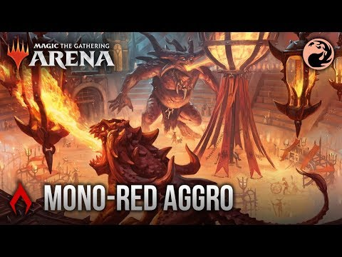 The Color Challenge - Ep  5 - Mono Red Aggro MTG Arena Deck