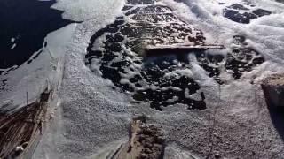 Гейзеры и водопады в Михайловке. Новостройка