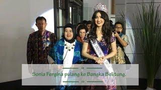 Puteri Indonesia 2018, Sonia Fergina Pulang Kampung