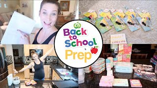 Back to School Preparation!  Meal Prep, Organizing, Cleaning, Lunch Stuff, Routines, Teacher Gifts