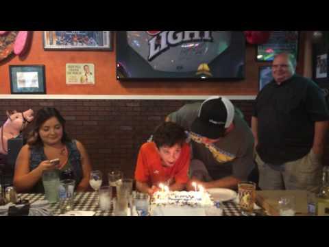 Happy Birthday Cake Face