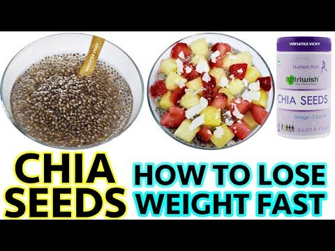 Chia Seeds For Weight Loss | Chia Seeds Weight Loss Recipe | Quick Weight Loss with Chia Seeds