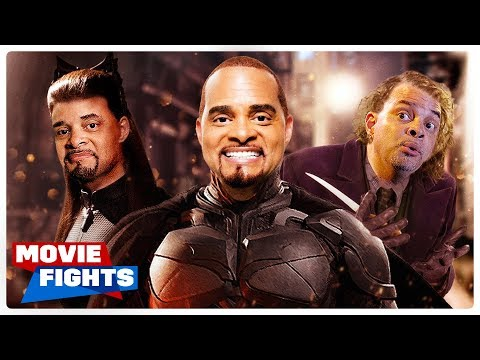 Sinbad in Batman?! WEIRD MOVIE FIGHTS!