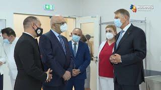 Iohannis, mesaj către personalul din medicina de urgenţă: Vă admir pentru dăruirea cu care vă faceţi profesia