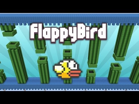 Flappy Bird Won't Get Any Easier In Minecraft