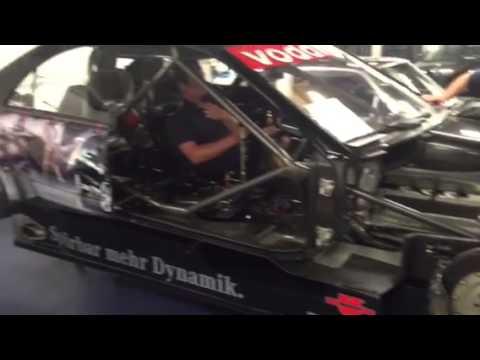 2005 AMG Mercedes DTM Car start up
