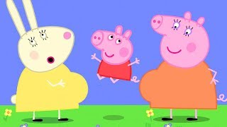 Peppa Pig Official Channel   Mummy Rabbit's Baby Bump ❤️ Come and Have a Look with Peppa Pig