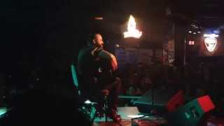 Justin Furstenfeld (Blue October) - Angel - Songs From An Open Book - 09/04/14 - Denton, TX