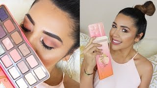 Too Faced Sweet Peach Palette Review y Tutorial - Ydelays
