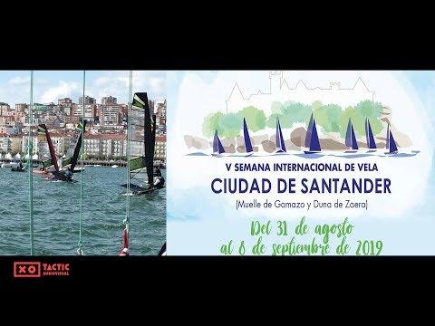 V Semana Internacional de Vela Ciudad de Santander - Waszp