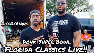 Big Rim Super Bowl!! LIVE FOOTAGE With Donkmaster, KDC, GoneHollywood