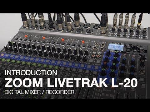ה-LiveTrak L-20 - קונסולה דיגיטלית 22 ערוצים + אפקטים במחיר מפתיע מ-Zoom