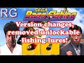 Sega Bass Fishing Dreamcast Version Changes The Lures R