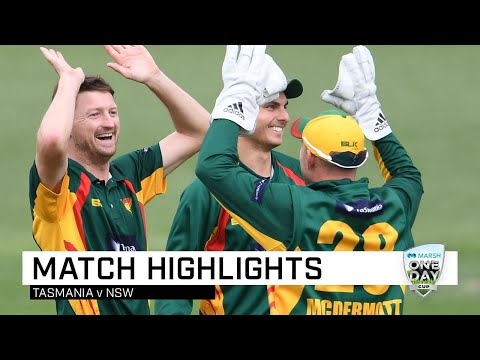 Bird, Wright shine as Tigers trounce Blues | Marsh One-Day Cup 2019
