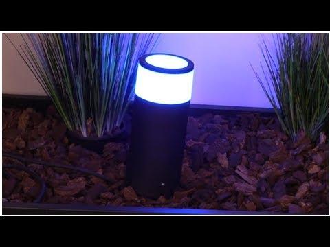 Smarte Lampen für draußen - Philips stellt Hue Outdoor vor