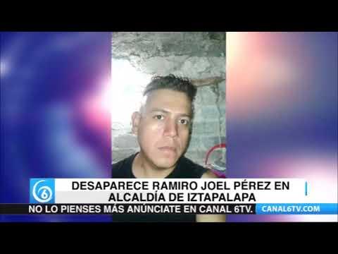 Piden ayuda para localizar a Joel Perez Altamirano, de 35 años de edad quien es reportado como desaparecido en la alcaldía de #Iztapalapa