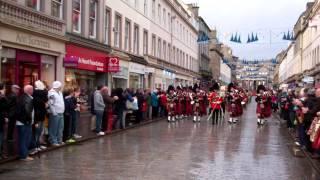 The Royal Scots Dragoon Guards Parade Dundee Scotland