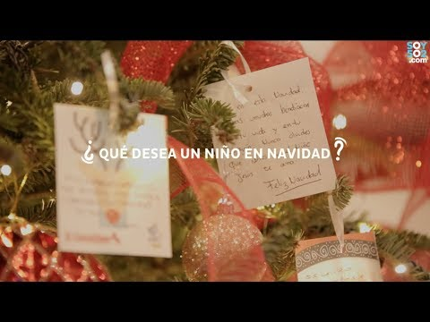 ¿Qué desea un niño en Navidad?