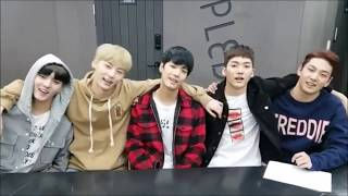 Dorky Minhyun With His NU'EST Friends