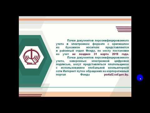 Заполнение формы ПУ-3 для предоставления в ФСЗН для ИП Беларусь. Пример 1.