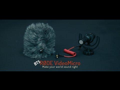 Hakken  - Rode VideoMicro TV Commercial BTS