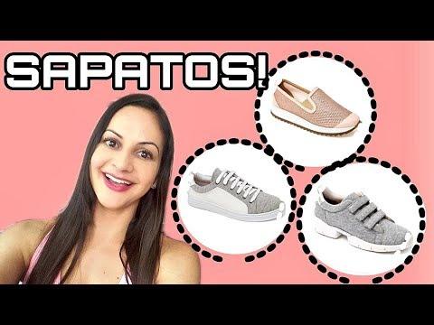 Tênis e sapatos que eu amei da marca PAULA TORRES - todos em promoção!!!