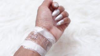 GETTING MY FIRST TATTOO + HEALING PROCESS | VLOG
