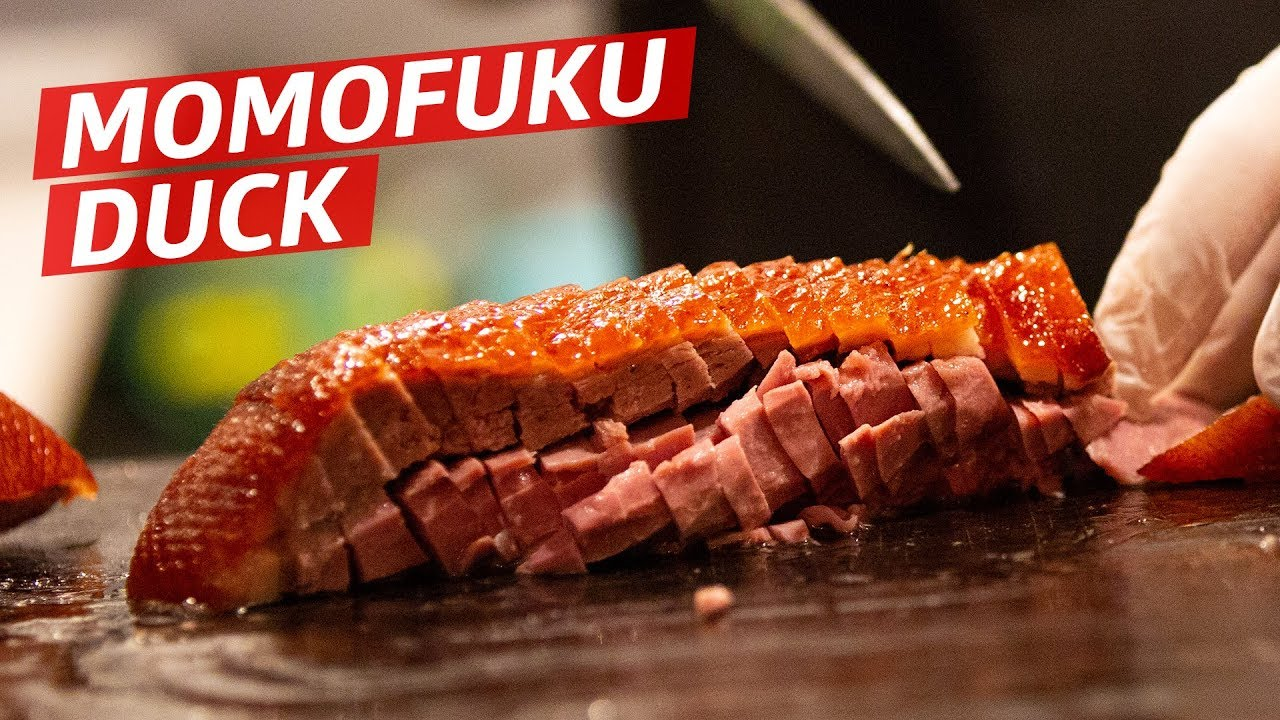 How Momofuku Makes Their Famous Roast Duck Ssam —Prime Time thumbnail