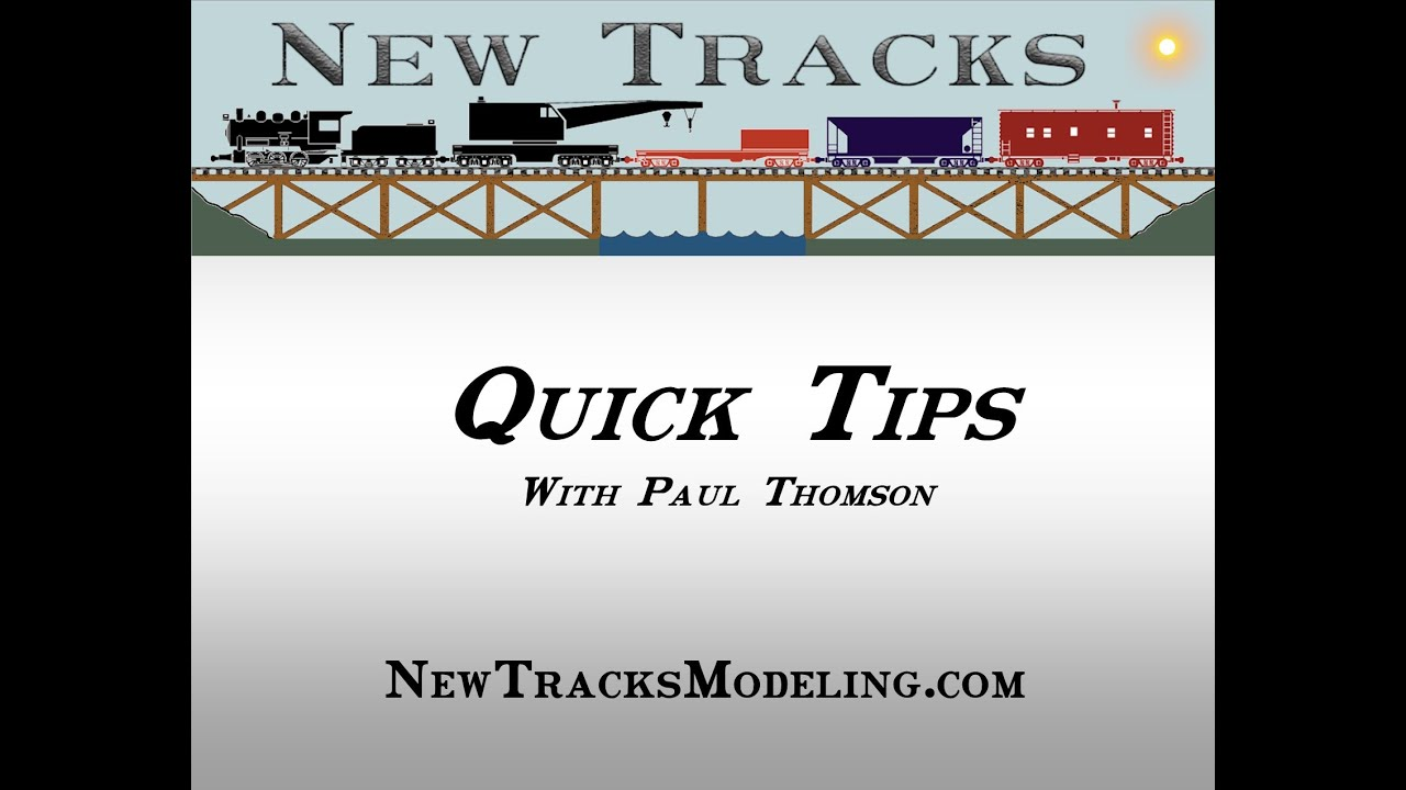 Quick Tips with Paul Thomson 01/02/2021