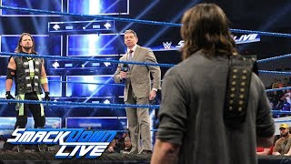 SmackDown LIVE; Revancha entre Andrade y Mysterio; Regresa Orton; English a 205 LIVE (VIDEOS)