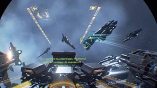 Eve Valkyrie PS4 - PlayStation VR Gameplay, test first levels