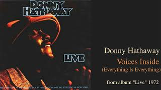 """Donny Hathaway """"Voices Inside (Everything Is Everything)"""" from album """"Live"""" 1972"""