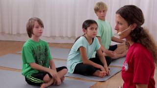 Yoga For Beginners | 20 Minute Kids Yoga Class with Yoga Ed. | Ages 9-10