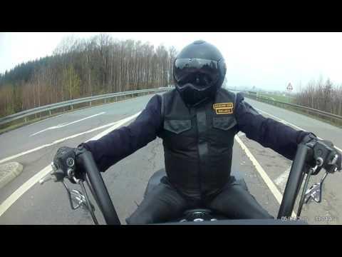 AraCord Vest Exclusive Testfahrt über Autobahn bei 8,5° Grad