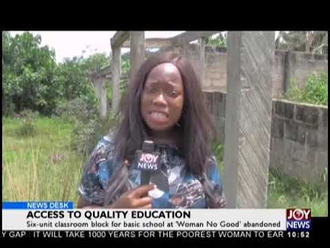 Access To Quality Education - News Desk on JoyNews (20-9-18)