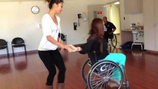 Wheelchair Dance (LIMITLESS) By Debbie and Heidi June 7, 2013