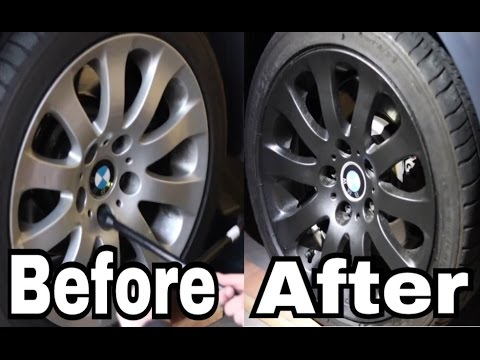Plasti Dipping BMW Rims (Tutorial/ Music Edit) Gianni & Kyle - Foreign