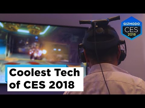 The Coolest Stuff We Saw At CES 2018