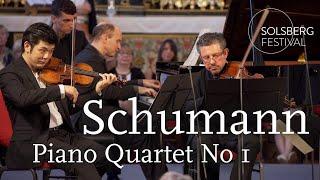 Schumann: Piano Quartet No. 1 / Daishin Kashimoto, Gilad Karni, Sol Gabetta, Nelson Goerner