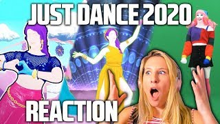 JUST DANCE 2020 TRAILERS REACTION! (fun & sad facts edition)