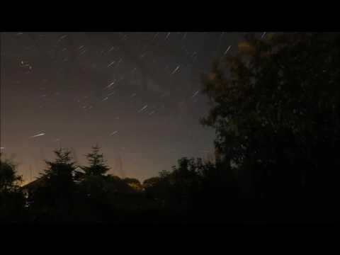 Perseid Meteor Shower- 12th August 2016