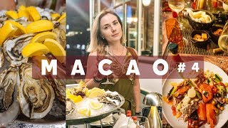 #4 МАКАО лучший бразильский ресторан, прогулки по центру, буддийский храм А-Ма, дурачимся в бассейне