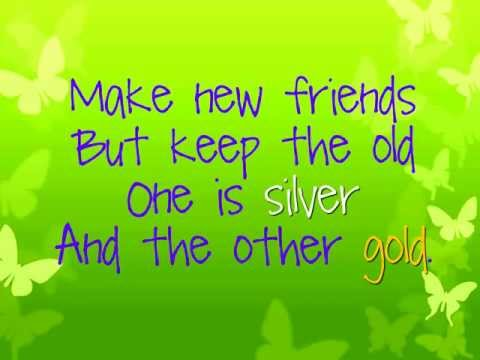 Make New Friends (Song) by Traditional