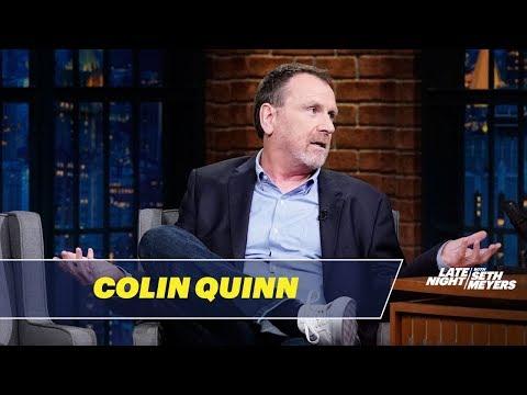 Colin Quinn Talks About Surviving a Heart Attack