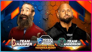 ROCKET LEAGUE FATHER-SON TOURNAMENT: TEAM HARPER vs. TEAM ANDERSON - Gamer Gauntlet